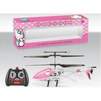 Buy cheap 3.5 channel infrared rc helicopter with gyro(hello kitty) product