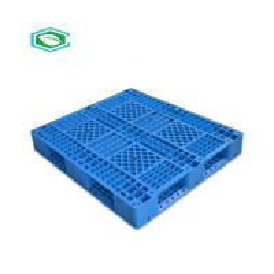 China 1311 Grid Reusable Plastic Pallets, Plastic Pallets Rackable Single Surface on sale