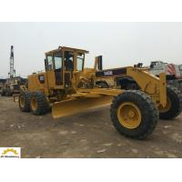 Buy cheap 123 Kw Used Caterpillar Motor Grader , 140H Second Hand Grader Low Working Hours product