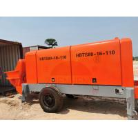 Buy cheap Portable Electric Concrete Pump For Tunnel Construction 1 Year Warranty product