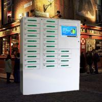 China 24 Door Big Screen Mobile Phone Charging Kiosk For Russia Accept Ruble Coins And Papermoney on sale