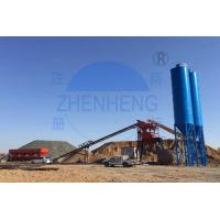 Buy cheap 60m3 / H Integrated Cement Plant, Automatic Plc Control Concrete Batch Mix Plant product