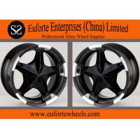 Buy cheap 17inch 5x150 off road wheels 17x8 / 8Jx17 Black SUV Wheels For Toyota Tundra  Sequoia from Wholesalers