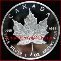 Buy cheap Canada maple leaf 100% silver plated coin product