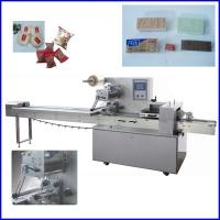 Buy cheap Automatic Multifunction  Flow Pack Machine For Bread / Biscuit product
