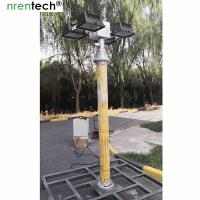 Buy cheap remote control pan tilt pneumatic telescopic mast light-4x1000W halogen-inside electric wire mast product