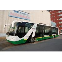 Buy cheap Anti - Slip Low Floor Tarmac Coach Apron Bus With IATA Standard product