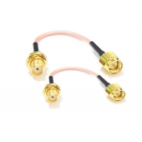 Buy cheap Sma Female To Sma Male RG316 Antenna Extension Cable Rg Connector Pigtail product
