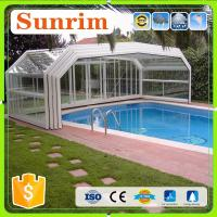 Buy cheap Family&Business Use Automatic Telescopic Swimming Pool Enclosures/Pool Cover product