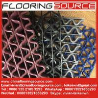 Buy cheap S Grip PVC Runner with S and Wave holes drain excess liquids away prevent slip and skid product