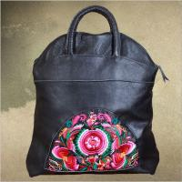 Buy cheap OEM Cow leather bags women handbags 100% Genuine leather handbags from china top factory product