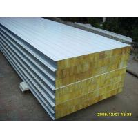 China Rock wool sandwich panel on sale