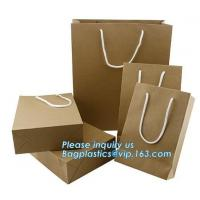 Buy cheap paper carrier bag luxury printed paper gift bag raw materials of brown paper bag wholesale,luxury shopping black packagi product
