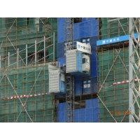 Buy cheap Twin Cage Safety 450m Passenger Material Rack And Pinion Hoist product
