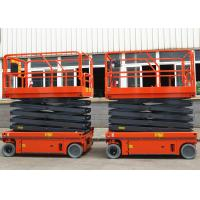 Buy cheap Flexible Simple Self Propelled Elevating Work Platforms Stable Performance product
