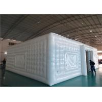 Buy cheap White Advertising Airtight Inflatables Cube Tent For Big Event Occasion product