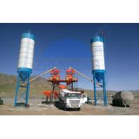 Buy cheap HZS50 50 m3/H Stationary Concrete Batching Plant, Portable Concrete Batching Plant product