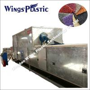 Buy cheap PVC Floor Carpet Extrusion Line / PVC Coil Cushion Mat Sheet Manufacturing Plant Machine product