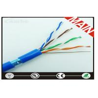 Buy cheap Ftp Cat5e Lan Cable 305 Meter , Cat5e Patch Cable With Foil Shielded product