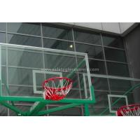 Buy cheap Inground Basketball Hoops 54 Tempered Glass Backboard / Glass Basketball Goals product