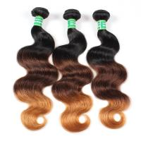 Buy cheap Factory Price Ombre 3 Color Body Wave 8 A grade Brazilian Human Hair bundles product