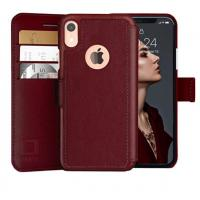 Buy cheap Mens IPhone XR Wallet Case with Ultra Strong Magnetic Closure Durable Slim product