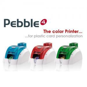 China Evolis Pebble4 single sided card printer on sale