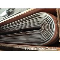 Buy cheap ASTM A688 TP304 Bright Annealed Stainless Steel Tube Welded U Shaped Pipe product