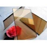 Buy cheap 2 mm - 19mm Thickness Color Coated Glass Flat Structure For Industrial Buildings product