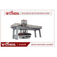 Buy cheap Stable Operation Brick Automatic Stacking Machine With Walking Car / Lifting Guide Pillar product