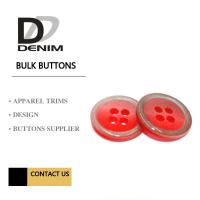Buy cheap Clothes, Polyesters Button & Accessories Bulk Apparel Colorful product