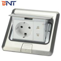 Buy cheap Stainless steel  with EU power plug floor pop up socket product