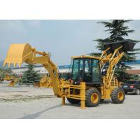 China Mini WD Compact Backhoe Loader WZ30-25 With 0.65m3 Loading Capacity 0.1M3 Digging Capacity on sale