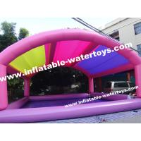 0.9mm PVC Tarpaulin Inflatable Swimming Pool with mobile Tent