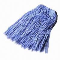 China Cleaning Cotton Wet Mop, Head with Nice Wear-resistant, Made of Cotton and Viscose Blended  on sale