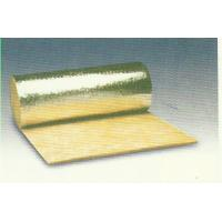 Quality Thermal Rockwool Insulation Blanket Flexible Faced With Aluminum Foil for sale