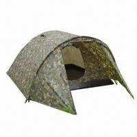 Buy cheap Outdoor Hiking Camping Tent for 1 to 2 Persons, with 7.9mm Fiber Pole Diameter product