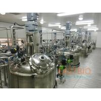 Buy cheap Wetted Parts SS316L In Situ Sterilizable Fermenter Air Blow Fermenter System product