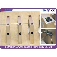Buy cheap Bi - direction High Speed Gates Access Control Barrier turnstiles For Stadium from Wholesalers