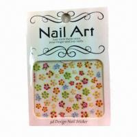Buy cheap DIY Creative Nail Decoration, Customized Designs are Accepted product