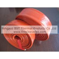 Buy cheap heat resistant silicone rubber fiberglass sleeve product