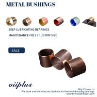 Buy cheap Underwater Wrapped Bronze Bearings Bronze Plain Bearings CuSn8 With Graphite product