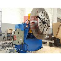 Buy cheap 600KG Rotary Welding Positioner with Quick Chuck / Clamper ,  Rotary Positioners product