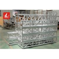 Buy cheap Outdoor Concerts Studio Sliver Aluminum Square Truss 400mm Bolt Truss from Wholesalers