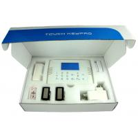 Buy cheap GSM home burglar Alarm control system 4 zones Wired, PIR sensor from Wholesalers