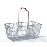 Buy cheap Single Handle Stainless Steel Shopping Baskets Rust Preventing Custom product