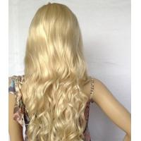 Buy cheap Long Straight Wigs Gold Scroll Wigs Kinky Curl Wig Hair for Female product