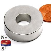 Buy cheap Kellin Neodymium Magnet Ring Customized Diameter Big Size Strong Permanent Magnetic Power product
