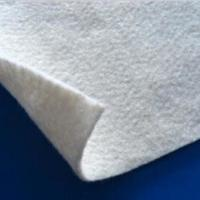 Buy cheap White Color PET Geotextile Stabilization  Fabric Non Woven Light weight UV Resistance product
