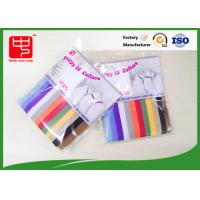 Buy cheap Reusable Micro hook & loop straps Puppy Pet Collars Various Color 10 * 350mm product